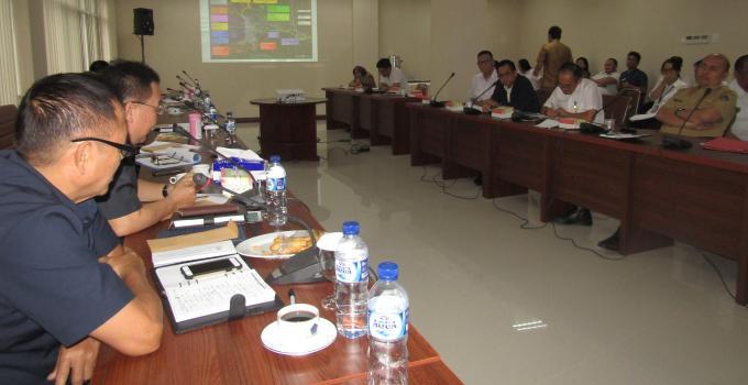 Eddyson Masengi di rapat Komisi 3 bersama BPJN XV