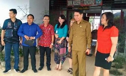 Komisi 4 Apresiasi SMK Negeri 1 Tondano Tanpa Uang Komite