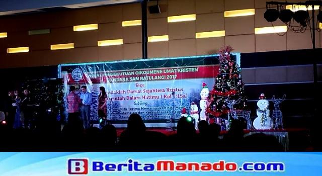 Perayaan natal bersama PT Angkasa Pura I