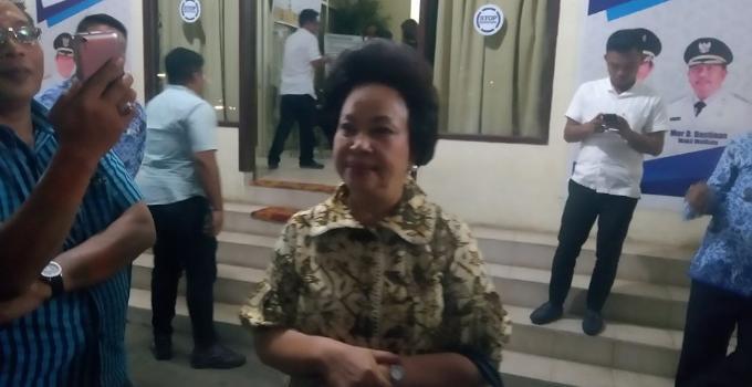 Ketua DPRD Manado, Noortje Van Bone