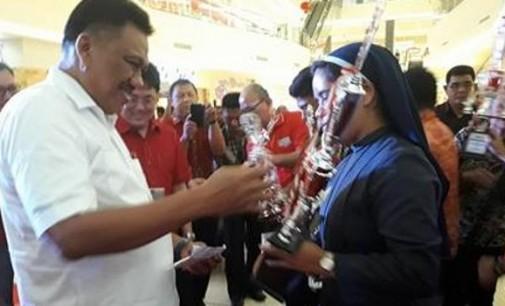 Peduli Seni dan Budaya Daerah, PDIP Sulut Gelar Lomba Kolintang dan Masamper