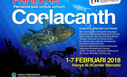 itCenter Pamerkan Ikan Coelacanth untuk Umum