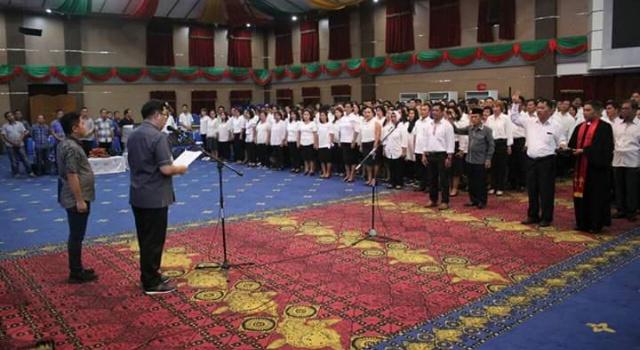 Pelantikan 504 Pala di kota Manado