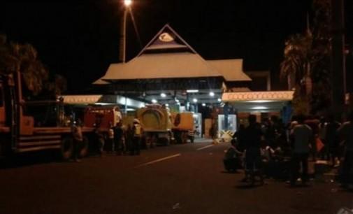 Lagi, Sopir Blokir Jalan Masuk Terminal Petikemas Bitung