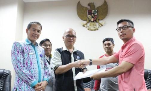 Pimpin Wartawan Pos DPRD Sulut, Ini Program Awal JERRY PALOHOON