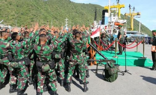 Pangdam XIII/Merdeka Minta Yonif Brigif 715 Lakukan Ini di Perbatasan Indonesia-Timor Leste