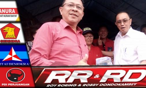 TUNAI !!! ROY RORING Bantu Korban Kebakaran Kawangkoan