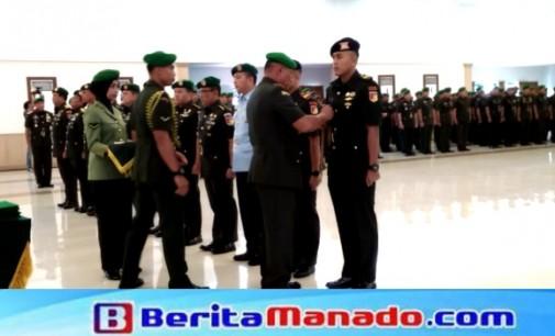 Jabatan Kasdam XIII/Merdeka Dan Posisi Strategis Lainnya Resmi Diserahterimakan