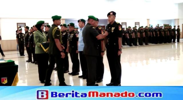 Pangdam XIII/Merdeka pimpin upacara serah terima jabatan di Grhadika Jaya Sakti