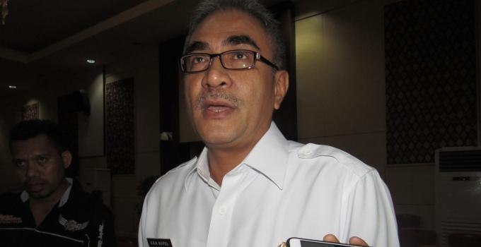 Kadis PUPR Sulut STEVE KEPEL menjelaskan kepada BeritaManado.com, Rabu (24/1/2018)