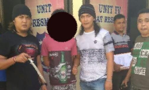 Pelaku Penikaman Penjaga Parkir SD Eben Haezar Akhirnya Ditangkap Tim Paniki Polresta Manado