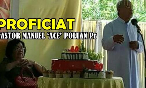 Perayaan Syukur 40 Tahun Imamat Pastor Manuel 'Ace' Poluan Pr