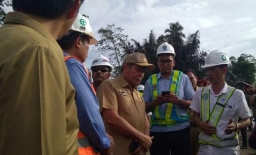 Progres Pengerjaan Sangat Lamban, Wali Kota Bitung Tinjau Lokasi KEK dan Tol