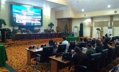 HENGKY KAWALO Sampaikan Hal Ini Dihadapan Paripurna DPRD Manado