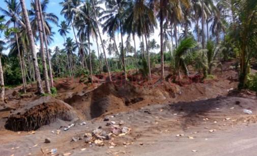 ESDM Provinsi Instruksikan Polres Bitung Tutup Galian Pasir Illegal