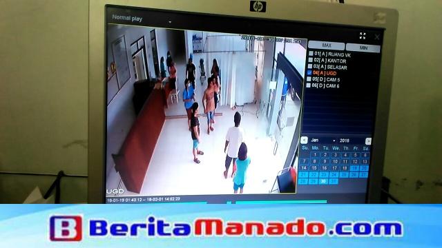 Bukti CCTV Pengaman RSUD Amurang Terkait Penanganan Pasien