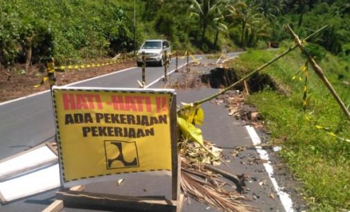 Ruas Jalan Kapitu-Tewasen Longsor, Pemerintah Lakukan Upaya Ini