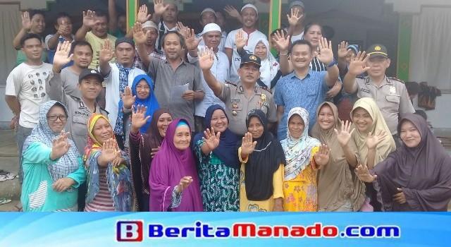 Masyarakat Desa Maen mendeklarasikan menolak masuknya paham radikalisme.