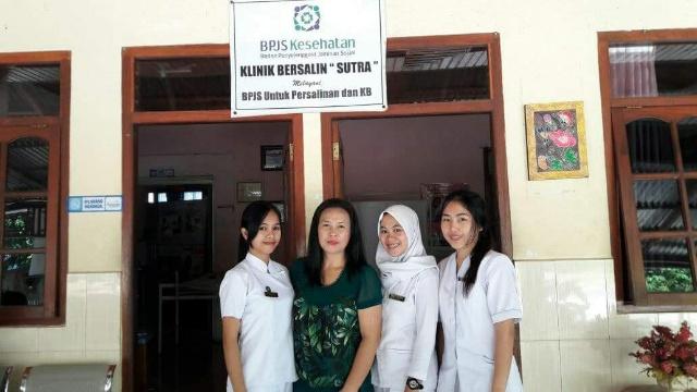 Klinik Sutra di Desa Kandangan Kecamatan Tompasobaru