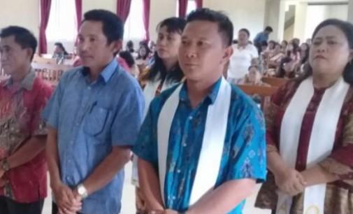 Jemaat GMIM Efrata Koltem Tentukan Panitia Hari Raya Gerejawi, RONALD MALINGKONOR Terpilih Ketua