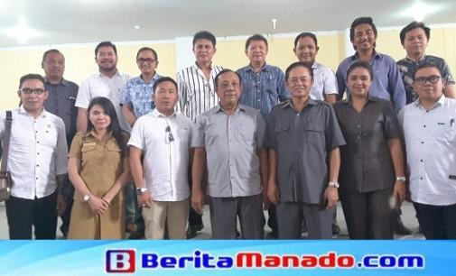 DPRD Bitung Studi Komparasi Pembentukan Produk Hukum Daerah di Minut