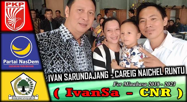 Ivan Sarundajang bersama Keluarga Monsow-Sumarauw