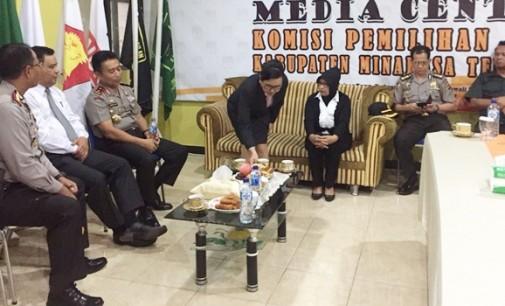Kapolda BAMBANG WASKITO Ingatkan KPU dan Panwas Bekerja Profesional