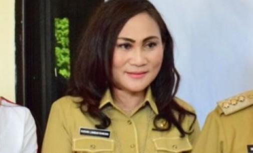 Peringati HPSN, First Lady Bitung Ajak Penyapu Jalan Noreng di Cinemaplex