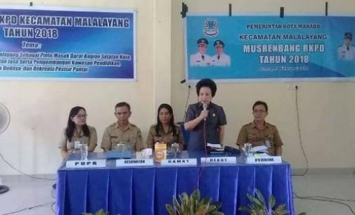 Musrenbang Kecamatan Malalayang Dihadiri Ketua DPRD Manado