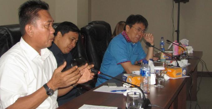 Noldy Lamalo di rapat bersama BPOM
