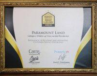 Paramount Land Raih Property Management Service Excellence Award 2018