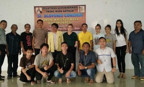 GERARDUS WORUNG Terpilih Sebagai Ketua Pemuda Katolik Komcab Kota Kotamobagu