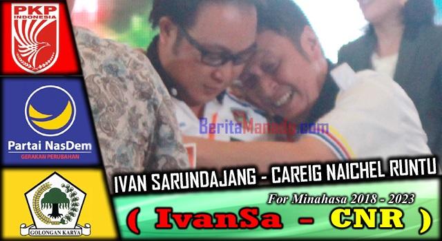 Ivan Sarundajang dan Careig Naichel Runtu