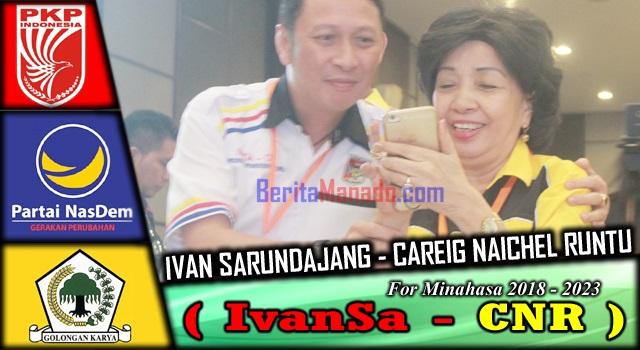 Ivan Sarundajang bersama Ibunda Detje Sarundajang laoh Tambuwun