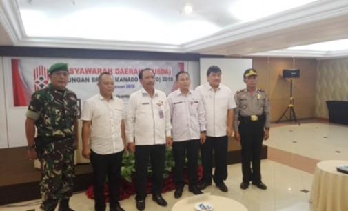 RUM USULU Wakili Wali Kota Manado Membuka Musda GABMO
