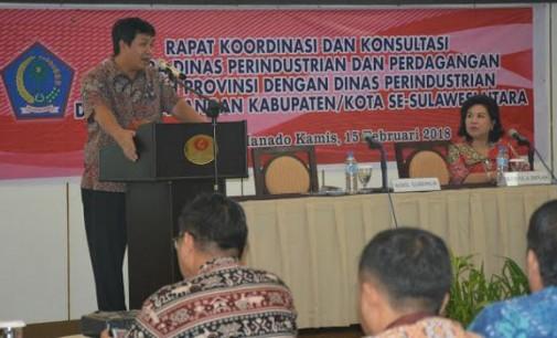Bicara Koordinasi di Rapat Disperindag, STEVEN KANDOUW Contohkan Talaud