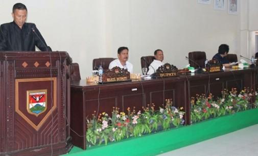 DPRD Setujui Hak Angket Terhadap Plt Bupati Ronald Kandoli