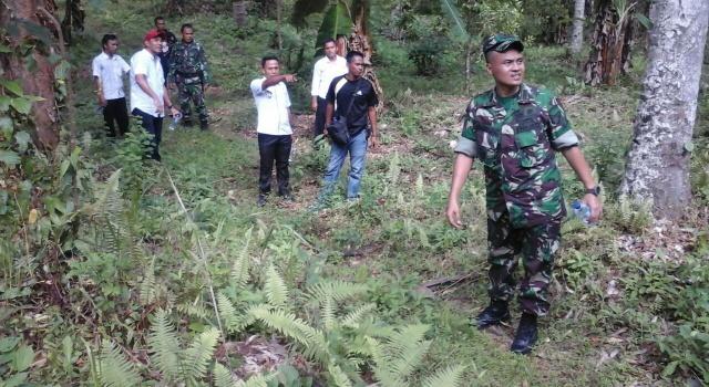 Peninjauan lokasi TMMD ke-101 di Desa Pakuku Bolaang Mongondouw