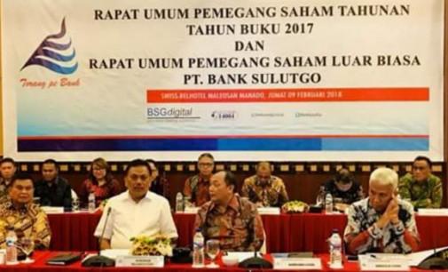 Bank SulutGo Targetkan Tambahan Modal Rp 150 M, OLLY DONDOKAMBEY Sebut Baik Untuk Ekspansi