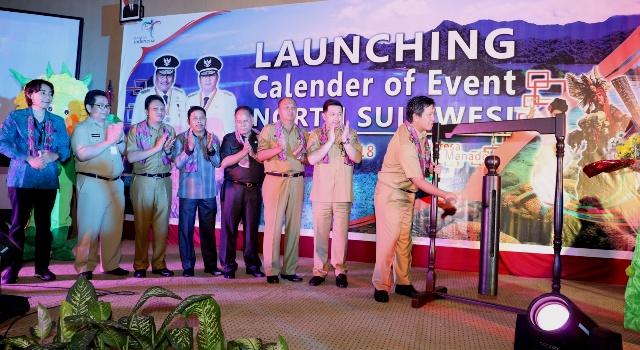 Steven Kandouw melaunching CoE North Sulawesi