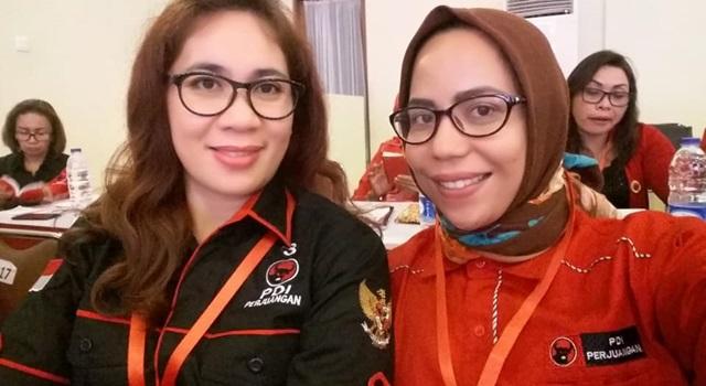 Chyntia Keintjem dan Al'ya Idrus. (Foto:IST)