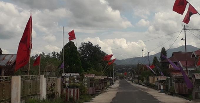 Masyarakat desa Tolok siap menyambut pesta demokrasi Pilkada Minahasa 2018