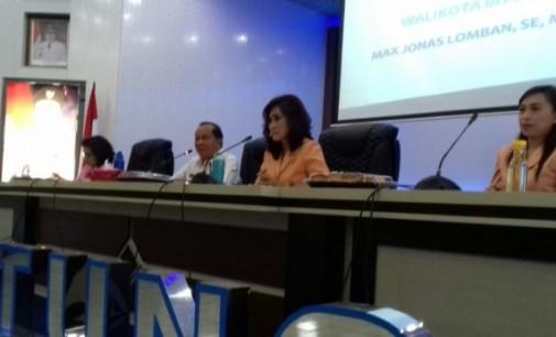 Hadir di Pertemuan DWP, Wali Kota Minta Jangan Remehkan Organisasi Perempuan