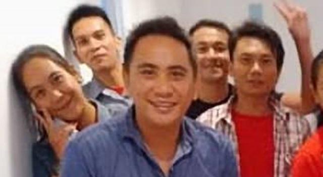 Edwin Umbas bersama pengurus DPD PSI Minahasa