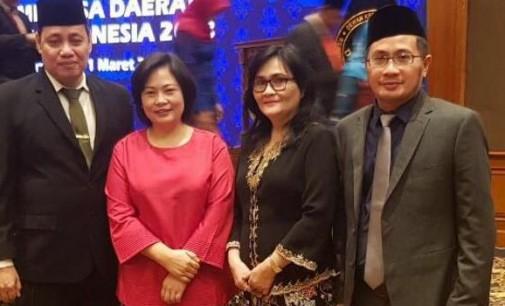Bersama YESSY MOMONGAN dan HERWYN MALONDA, FERRY LIANDO Dilantik sebagai TPD DKPP Sulut
