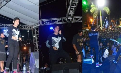 Siapa Sangka Anggota DPRD Bitung Ini Vocalis Band Metal
