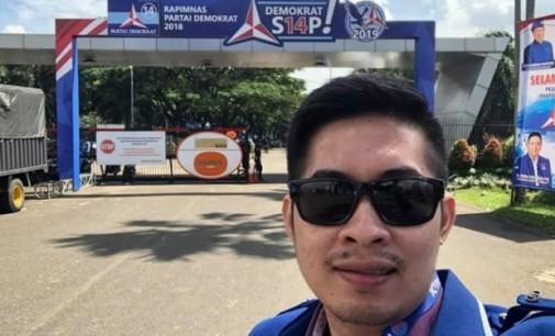 Hadir di Rampimnas Demokrat, Ini KataHabriyanto Achmad