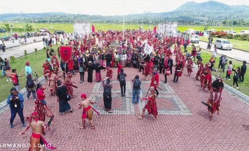 500 Waraney Buka Acara Aliansi Masyarakat Adat Nusantara