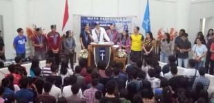 Sah, 195 Mahasiswa Jadi Anggota GMKI Manado
