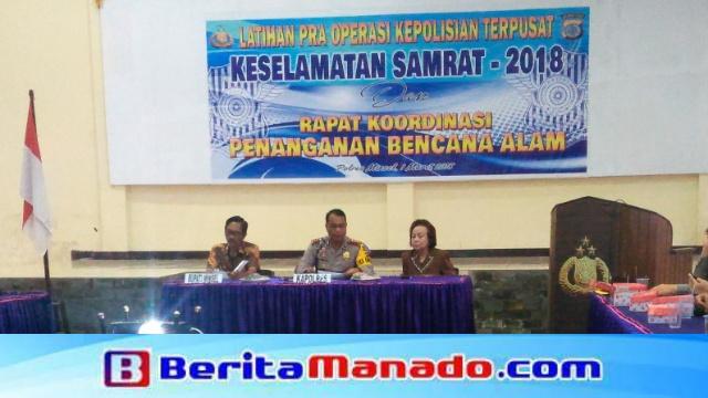 Rapat Koordinasi Penanggulangan Bencana Alam